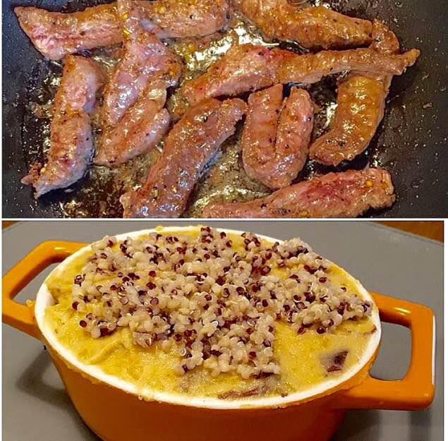 Sirloin Steak & Sweet Potato Pot Pie - It's never too late ...